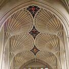 Fan Vaulted Ceiling Bath Abbey by Sue Ballyn
