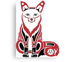 Mahkesis - Fox Canvas Print