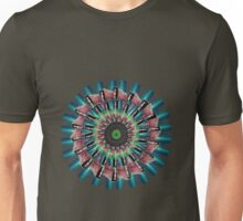 Made Up Dice Flower by K8T Unisex T-Shirt