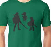 The Three Links - The Young, Toon, and Old Unisex T-Shirt