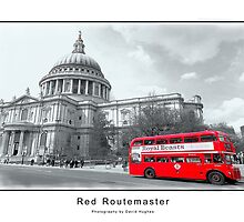 Red Routemaster by DavidWHughes