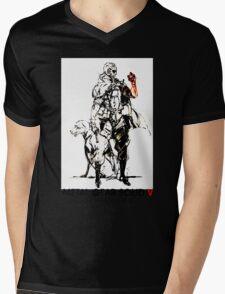 Metal Gear Solid Mens V-Neck T-Shirt