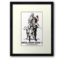 Metal Gear Solid Framed Print