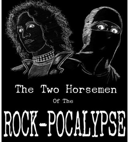 Horsemen of the Rock-pocalypse Sticker