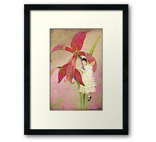 Flower Spirit Framed Print