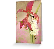 Flower Spirit Greeting Card