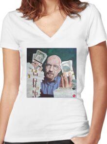 Insurance Women's Fitted V-Neck T-Shirt