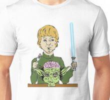 Luke Eats Yoda's Brain Unisex T-Shirt