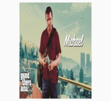 GTA V Michael by Raikoh