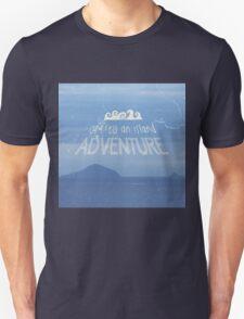 Off To An Island Adventure Blue Coast Dawn T-Shirt