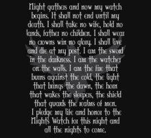 Night's Watch Oath by Marjuned