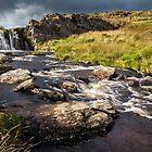 Waterfall, Mid Wales by Heidi Stewart