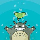 Totoro by Monstruonauta
