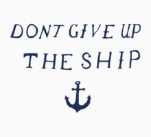 Don't Give Up the Ship- Navy by davidyarb