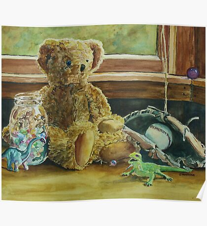 Teddy and Friends Poster