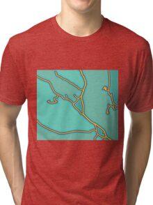 Map Roulette - 001 Tri-blend T-Shirt