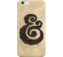 Ink Ampersand iPhone Case/Skin