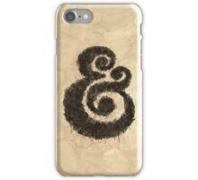 Ink Ampersand iPhone Case/Skin