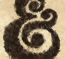 Ink Ampersand by williamhenry