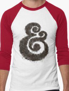 Ink Ampersand Men's Baseball ¾ T-Shirt