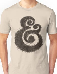 Ink Ampersand Unisex T-Shirt