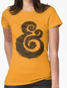 Ink Ampersand Womens Fitted T-Shirt