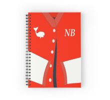 NBHS Whaler Pride/ Letter Jacket Theme - (Designs4You) Spiral Notebook