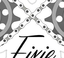Forever Fixie Sticker