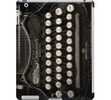 Vintage Typewriter Keyboard iPad Case/Skin