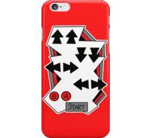 Konami Code 80's Nintendo Style iPhone Case/Skin