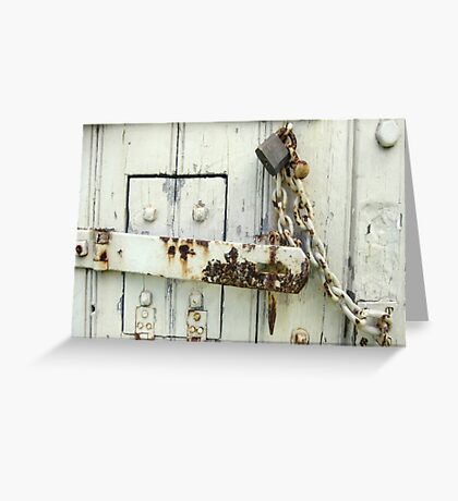 Latched Greeting Card