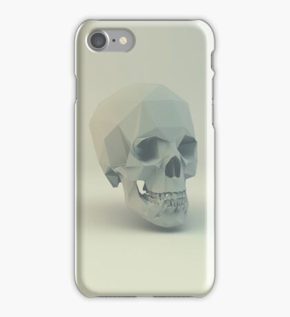 Skull Low Poly iPhone Case/Skin