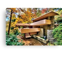 The Art & Architecture of Fallingwater Canvas Print