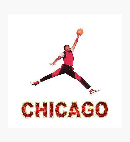 Michael Jordan Chicago Photographic Print