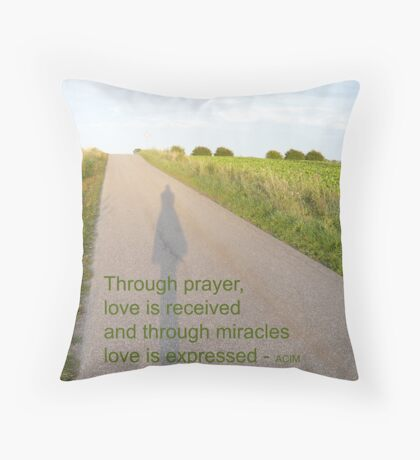 ACIM #4 Love is all there is Throw Pillow