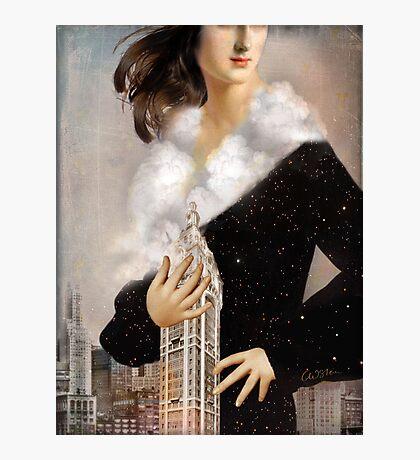 Over Manhattan Photographic Print