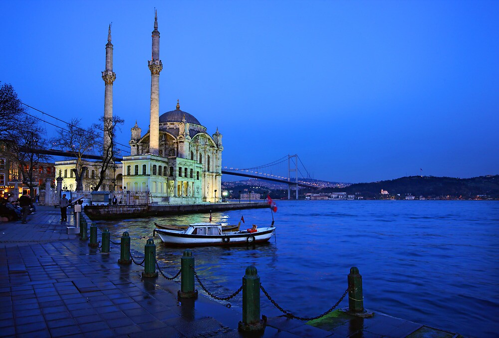 Ortaköy & the first bridge of Bosphorus by Hercules Milas