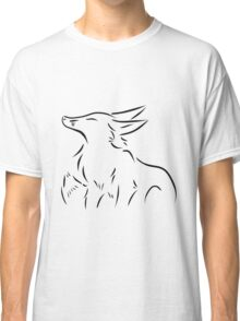Simple Fox Poetry Classic T-Shirt
