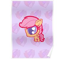 Weeny My Little Pony- Scootaloo Poster