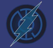 Blue Lantern Flash by holdingmyhalo