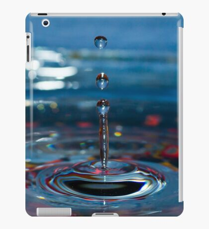 Blue Splash iPad Case/Skin