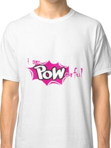 Powerful comic style t-shirt Classic T-Shirt