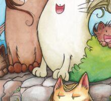 Siren Cats Sticker