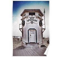 Laguna Beach Lifeguard Station Poster