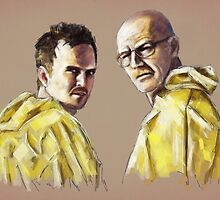 Walt & Jesse by tracieandrews