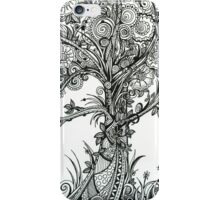 Elegance An Ink Drawing iPhone Case/Skin
