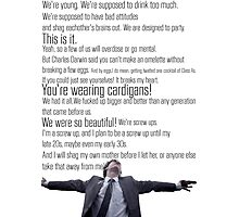 Nathan's Speech Photographic Print