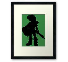 The Legend of Zelda - Young Link Framed Print