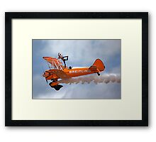 Breitling Wingwalking Team's Stearman Framed Print