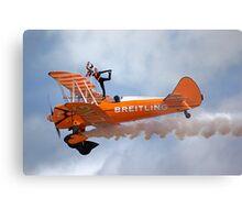 Breitling Wingwalking Team's Stearman Metal Print